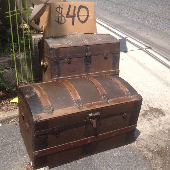 Vintage trunks, great shape $40 sale
