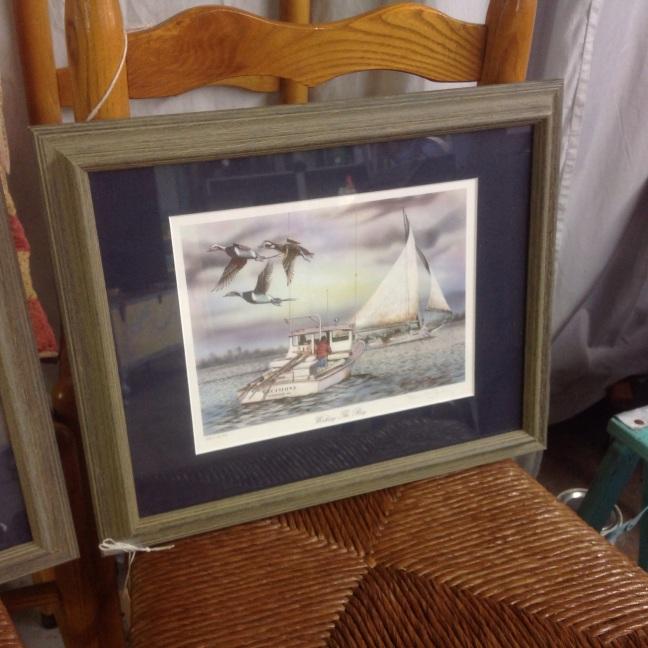 #waterfowl#print#Eastern Shore#sailboat